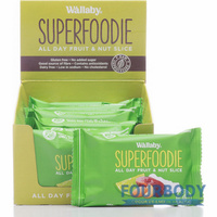 Wallaby Superfoodie Slices Coconut Lime 48g