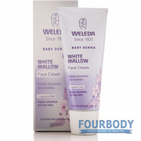 Weleda White Mallow Sensitive Baby Face Cream 50ml