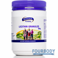 Wonder Foods Lecithin Granules 500g