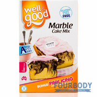 Well & Good Marble Cake Mix 545g