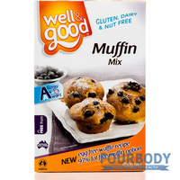 Well & Good Muffin Mix 450g