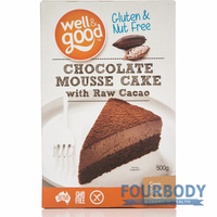 Well & Good Chocolate Mousse Cake 500g