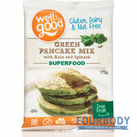 Well & Good Green Pancake Mix with Kale 175g