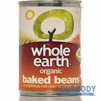 Whole Earth Baked Beans Organic 420g