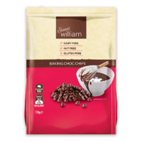 Sweet William Chocolate Chips 150g