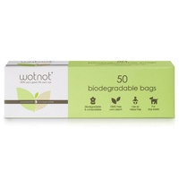Wotnot Biodegradable Nappy Bags 50s