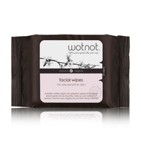 Wotnot Facial Wipes Oily/Sens Skin 25s