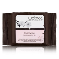 Wotnot Facial Wipes Dry/Sens Skin 25s