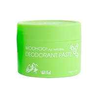 Woohoo All Natural Deodorant Paste Wild 70g