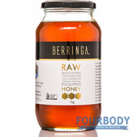 Berringa Raw Organic Eucalyptus Honey 1kg
