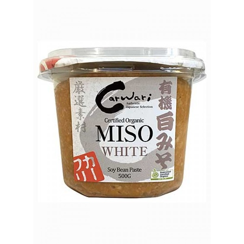 Carwari Organic Miso Paste White 500g