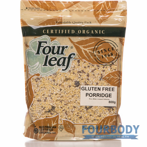 Four Leaf Gluten Free Porridge 800g