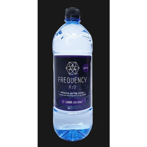 Frequency H20 Alkaline Spring Water Lunar 1l Freqy