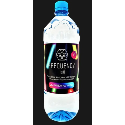 Frequency H2o Alkaline Spring Water Rainbow 1l Freqy