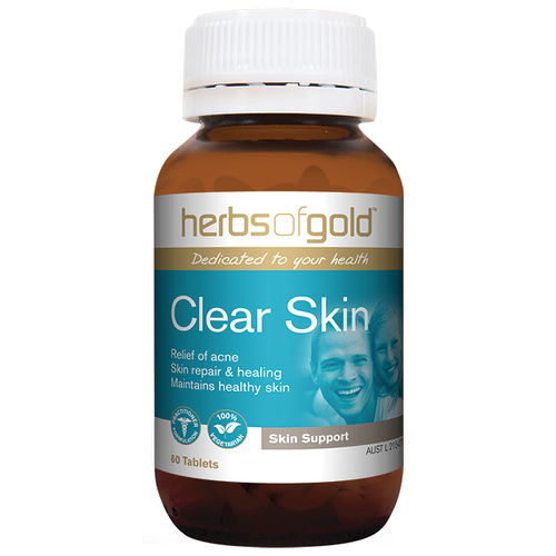 Herbs Of Gold Clear Skin 60 tabs