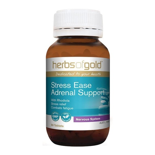 Herbs Of Gold Stress Ease Adrenal Support 60 tabs