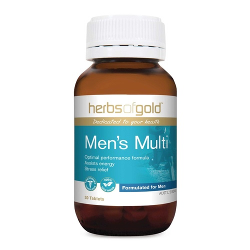 Herbs Of Gold Men's Multi 30 tabs