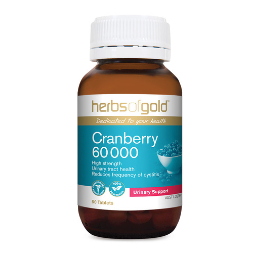 Herbs of Gold Cranberry 60 000 50 tabs