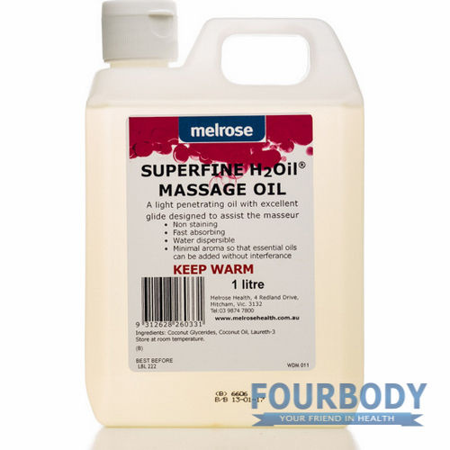 Melrose Massage H2Oil SuperFine 1L