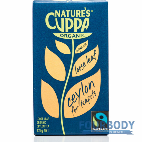 Nature's Cuppa Ceylon Loose Leaf Tea 125g