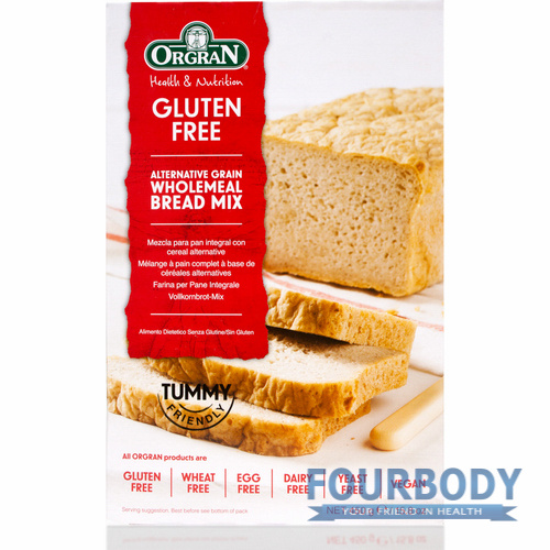 Orgran Gluten Free Wholemeal Bread Mix 450g