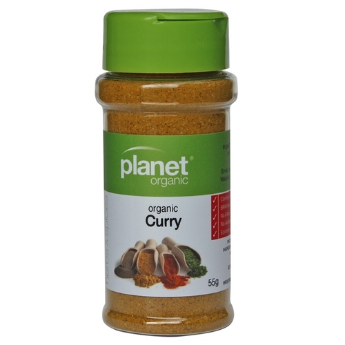 Planet Organic Curry Powder 55g