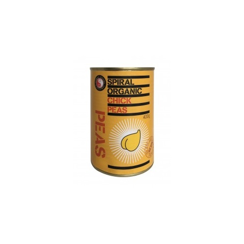 Spiral Foods Organic Chick Peas 400g