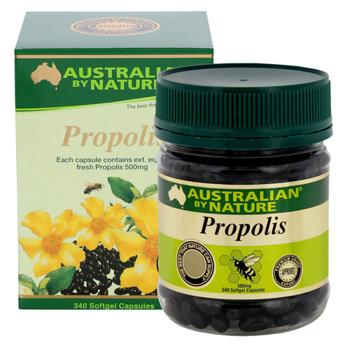 Australian By Nature Propolis 500mg 340 caps CLEARANCE