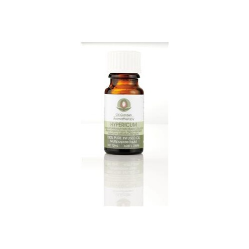 Oil Garden Aromatherapy Infused Hypericum Oil 12ml CLEARANCE