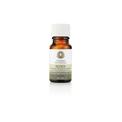 Oil Garden Aromatherapy Rejoice Blend 12ml CLEARANCE
