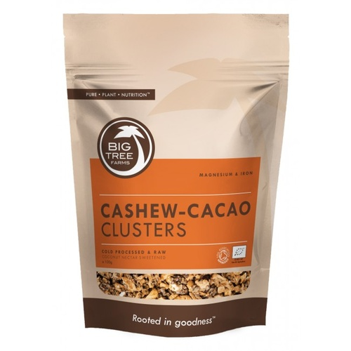 Big Tree Cacao Cashew Clusters 250g