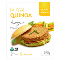 Andean Valley Org Royal Quinoa Burger Mix 375g