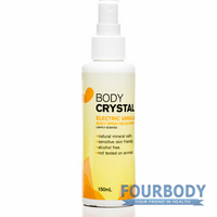 The Body Crystal Body Spray Vanilla Deodorant 150ml